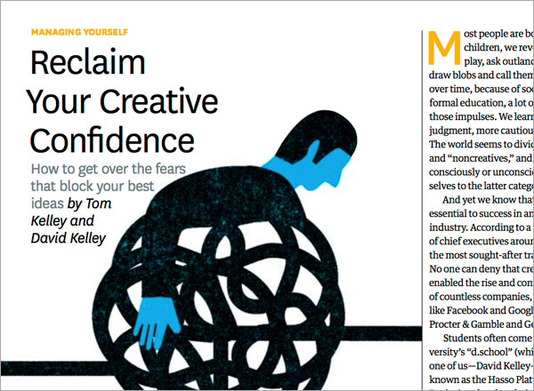 Creative Confidence By Tom David Kelley